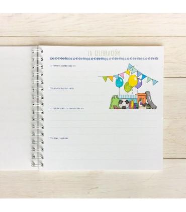 Libro de Comunión pequeño NIÑO