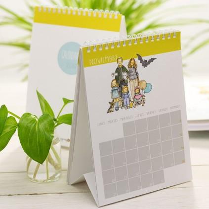Calendario mesa PERSONAJES