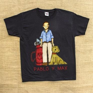 Camiseta NIÑO-HOMBRE con personaje