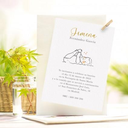 Invitaciones Bautizo