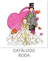 catálogo de boda