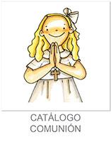 catálogo de comunion