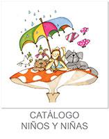 dibujo de niña con mascotas