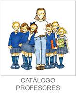 dibujo de profesora con niños y niñas