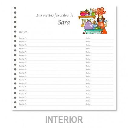 Cuaderno de recetas