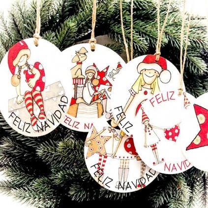 Adorno Árbol Navidad