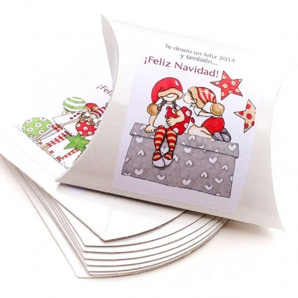 Caja blanca Navidad