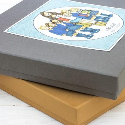 Caja regalo de profesor