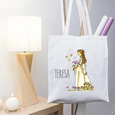 Bolsa regalo con dibujo comunion