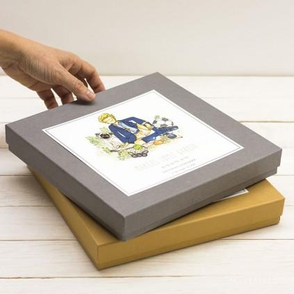 Caja para libro y álbum de Comunión