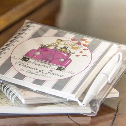 Cuaderno Boda con boli