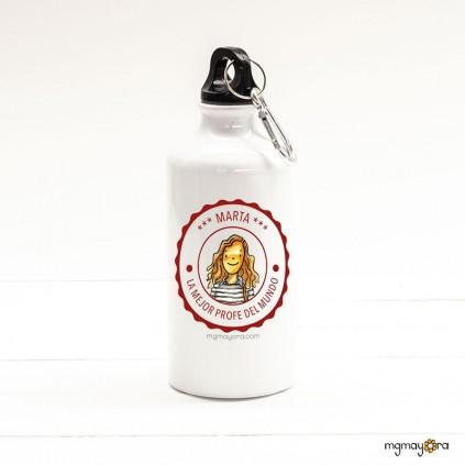 Botella PROFESOR sello