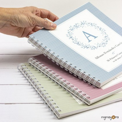 Libro de firmas Comunión con inicial