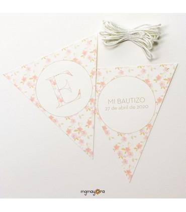 Banderines Bautizo inicial