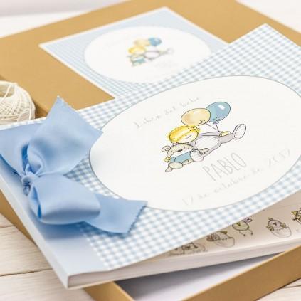 Libro del Bebé y álbum de Bautizo